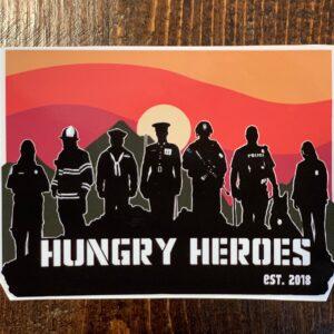Heroes Sticker