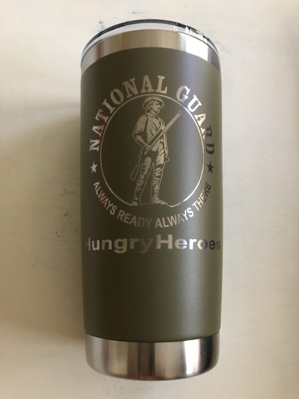 National Guard Hungry Heroes Tumbler