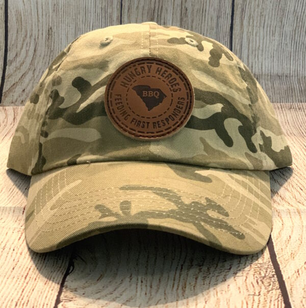 "Camo ""Dad"" Hat Hungry Heroes"
