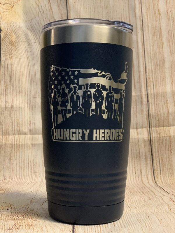 Hungry Heroes Tumbler