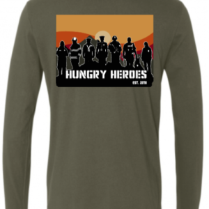 "OD Green ""Heroes"" Long Sleeve Tee"