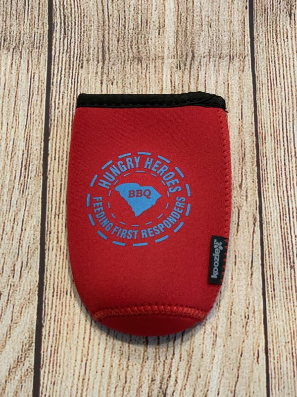 Slim Red Can Koozie