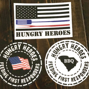 Hungry Heroes Stickers